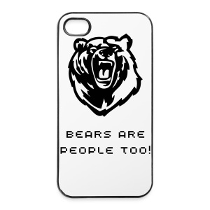 Bears are people too! iPhone 4/s Hard Case - iPhone 4/4s Hard Case