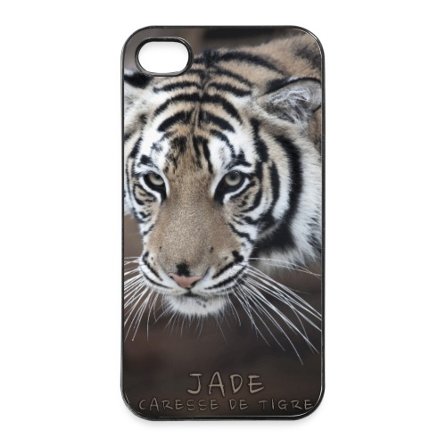 Coque iPhone 4/4S portrait Jade - Coque rigide iPhone 4/4s