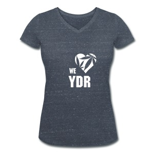 WE LOVE YDR FOR WOMEN - Vrouwen bio T-shirt met V-hals van Stanley & Stella