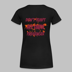 T-shirt femme (woman) Don't tempt it - Women's Premium T-Shirt
