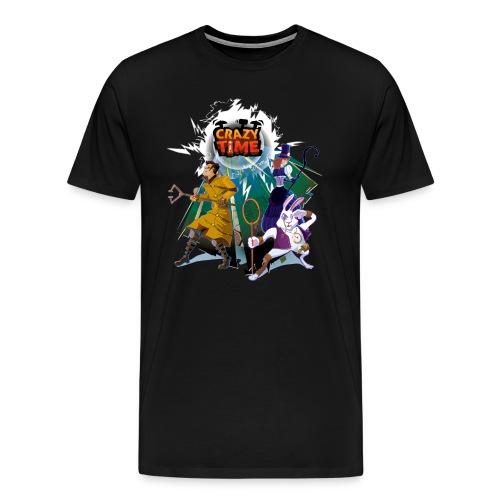 TShirt Crazy Time Noir Quand H - T-shirt Premium Homme