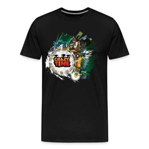 TShirt Crazy Time Noir TM H - T-shirt Premium Homme