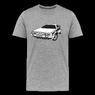 T-skjorter ~ Premium T-skjorte for menn ~ DMC DeLorean