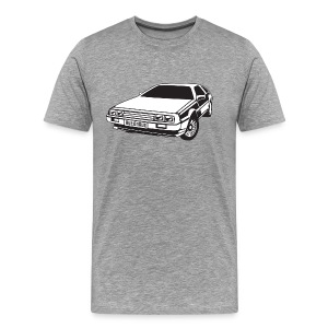 DMC DeLorean - Premium T-skjorte for menn