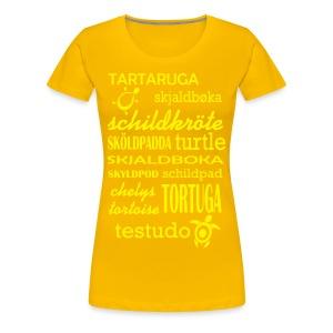 T-Shirt - Schildkröten gibt es Überall - Frauen Premium T-Shirt