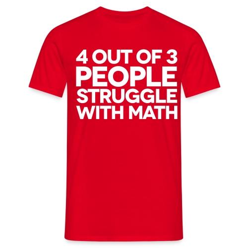 Im good at maths - Men's T-Shirt