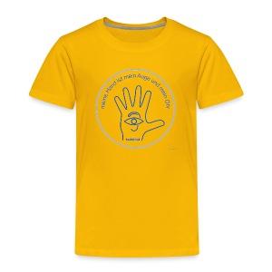 meine Hand - T-Shirt - Kinder Premium T-Shirt