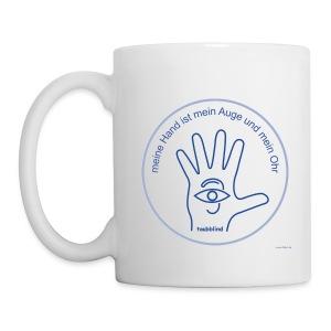 meine Hand - Tasse