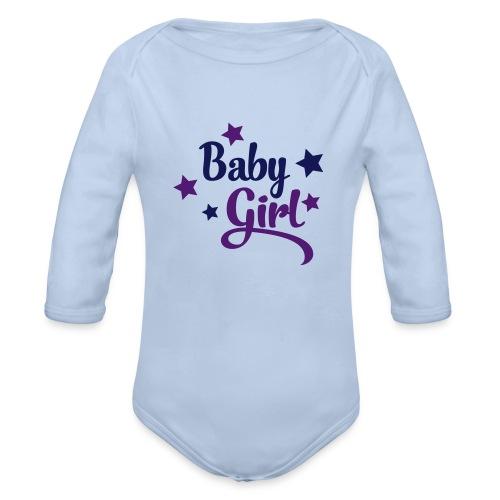 baby girl - Body orgánico de manga larga para bebé