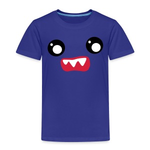 Kawaii Face Scared - Kinder Premium T-Shirt