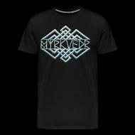 T-Shirts ~ Men's Premium T-Shirt ~ Myrkvedr - Logo (Ice) T-Shirt