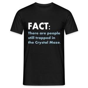 Fact Crystal Maze - Men's T-Shirt