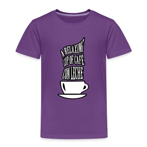A RELAXING CUP OF CAFE CON LECHE - Kids' Premium T-Shirt
