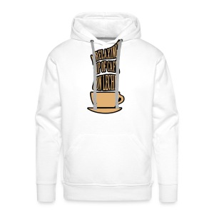 A RELAXING CUP OF CAFE CON LECHE - Men's Premium Hoodie