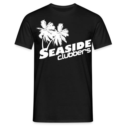 T-Shirt klassisch s/w - Männer T-Shirt