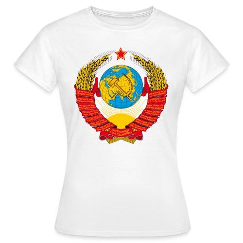 Герб СССР - Frauen T-Shirt