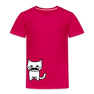 Kawaii Kitteh like a Sir! - Kinder Premium T-Shirt