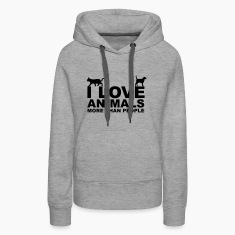 I Love Animals Hoodies & Sweatshirts