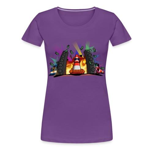 Pièrre le Pylôn - Party-Leitkegel gemäß §43 StVO - Frauen Premium T-Shirt