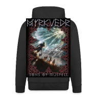 Hoodies & Sweatshirts ~ Men's Premium Hooded Jacket ~ Myrkvedr - SoM Hoodie