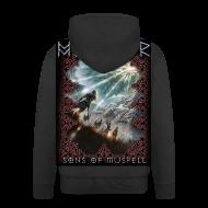 Hoodies & Sweatshirts ~ Men's Premium Hooded Jacket ~ Myrkvedr - SoM Hoodie