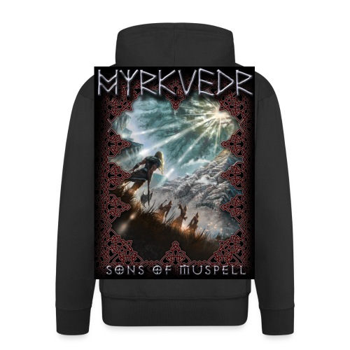 Myrkvedr - SoM Hoodie - Men's Premium Hooded Jacket
