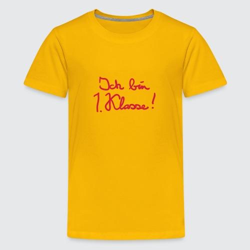 erstklassig - Teenager Premium T-Shirt