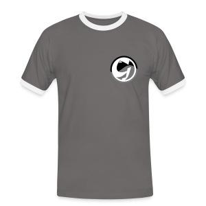 Grawiscrew - Männer Kontrast-T-Shirt