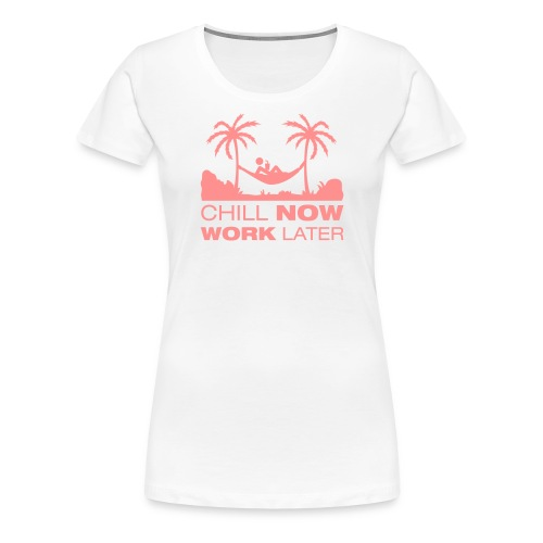Yvo Chill Out Womens T-Shirt - Women's Premium T-Shirt
