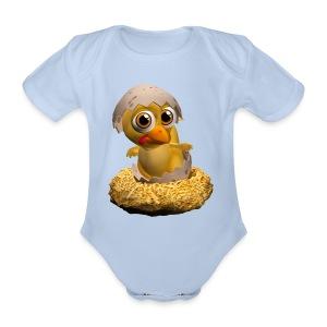 Baby's One-piece - Organic Short-sleeved Baby Bodysuit