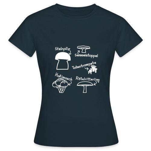 T-Shirt Pilze - Frauen T-Shirt