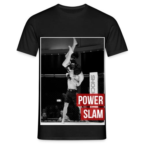 Power slam T shirt - Men's T-Shirt