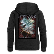 Hoodies & Sweatshirts ~ Women's Premium Hooded Jacket ~ Myrkvedr - SoM Hoodie (Women)