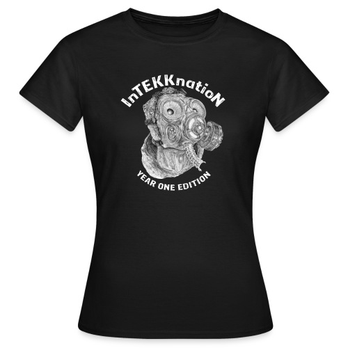 InTEKKnation year one edition -weiss-    - Frauen T-Shirt