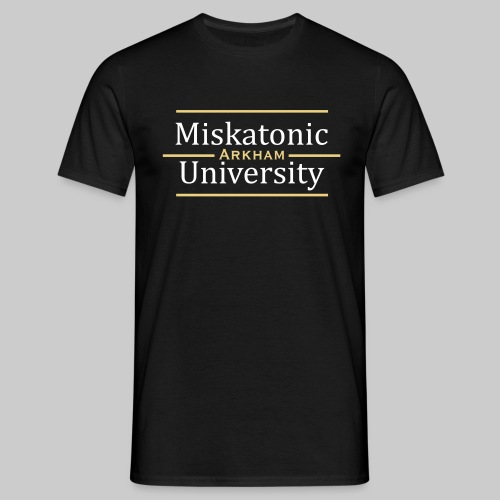 MTEv1: Miskatonic University - Arkham - Männer T-Shirt
