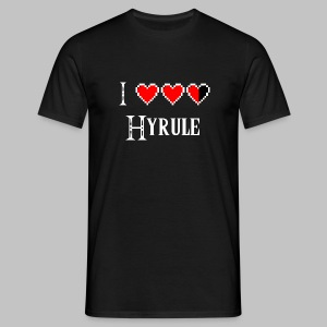 T-shirt Homme (man) Love Hyrule - Men's T-Shirt