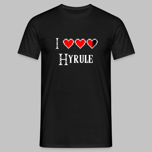 T-shirt Homme (man) Love Hyrule - Men's T-Shirt