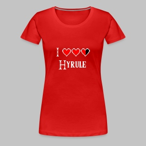 T-shirt femme (woman) Love Hyrule - Women's Premium T-Shirt