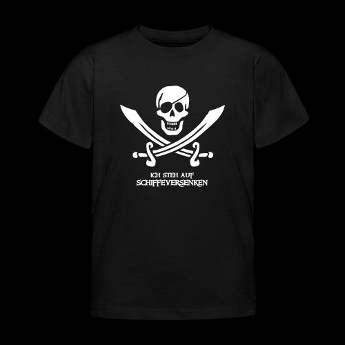 ~ Schiffeversenken ~ - Kinder T-Shirt