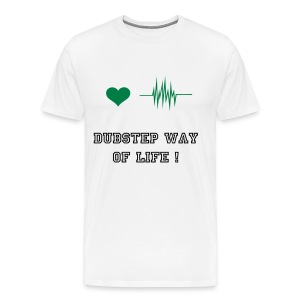 Dubstep way of life ! - T-shirt Premium Homme