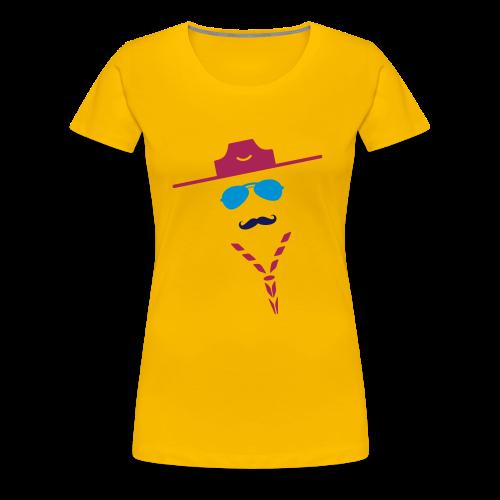 Moustache - Women's Premium T-Shirt