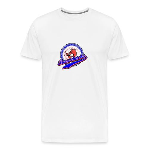 RAZORBACKS Logo couleur - T-shirt Premium Homme