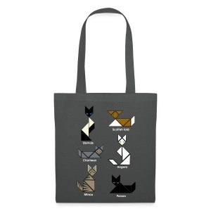 Sac shopping - tangram chats - Tote Bag