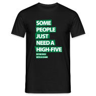 T-shirts ~ Mannen T-shirt ~ Funny T-shirt Some people just need a high five..