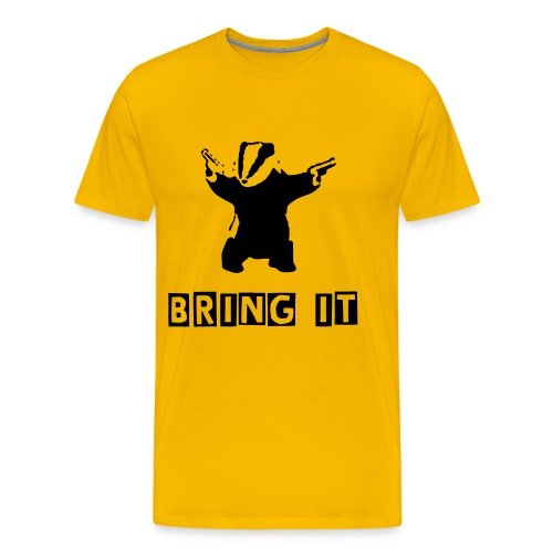 Bring it Badger - Men's Premium T-Shirt