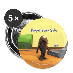 Hempel Pin Cover, Anstecknadel, Button - Buttons mittel 32 mm