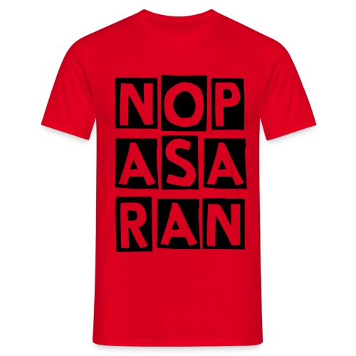 NO PASARAN - Men's T-Shirt
