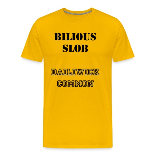 Vote for Bilious Slob - Men's Premium T-Shirt