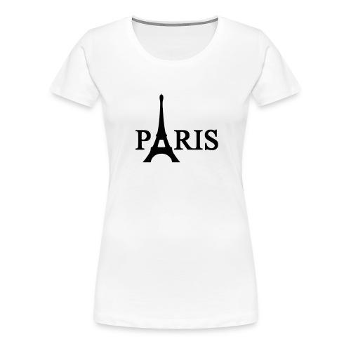 T-SHIRT FEMME PARIS - T-shirt Premium Femme