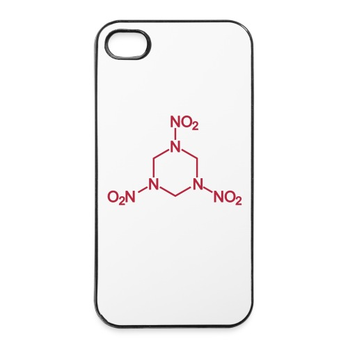 C4 molecule (explosive) - iPhone 4/4s Hard Case